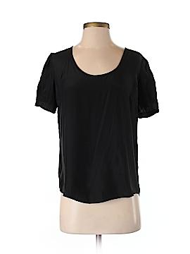 Emerson Fry Short Sleeve Silk Top Size XS