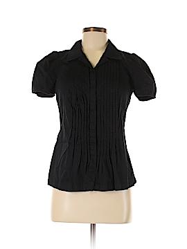 Club Monaco Short Sleeve Button-Down Shirt Size M