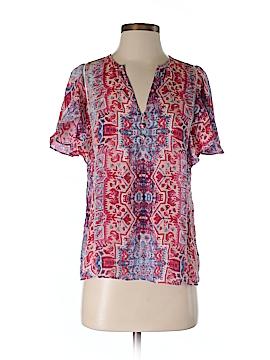 Parker Short Sleeve Blouse Size XS