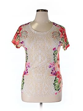 Closet Full Short Sleeve Blouse Size L