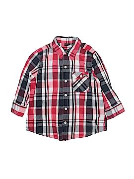 Erika 3/4 Sleeve Button-Down Shirt Size M (Petite)