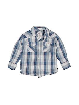 Lucky Brand Long Sleeve Button-Down Shirt Size 3T