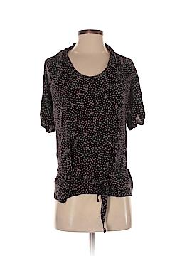 Thakoon Short Sleeve Silk Top Size 2