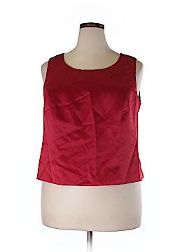 Jessica Howard Sleeveless Blouse Size 20 (Plus)