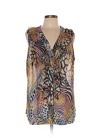 Sunny Leigh Sleeveless Blouse Size 0X (Plus)