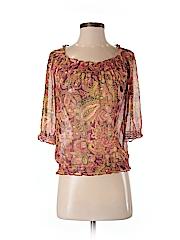 Ann Taylor LOFT Women 3/4 Sleeve Blouse Size XS (Petite)