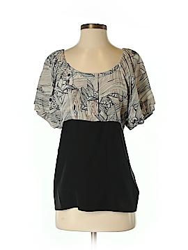 Vena Cava Short Sleeve Silk Top Size 2