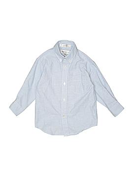 Van Heusen Long Sleeve Button-Down Shirt Size 4