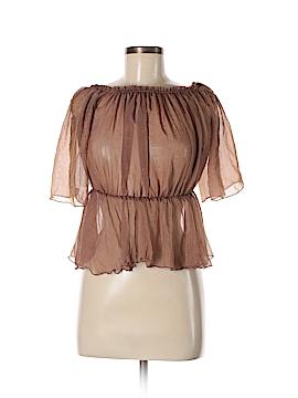 Fashion Nova Short Sleeve Blouse Size S