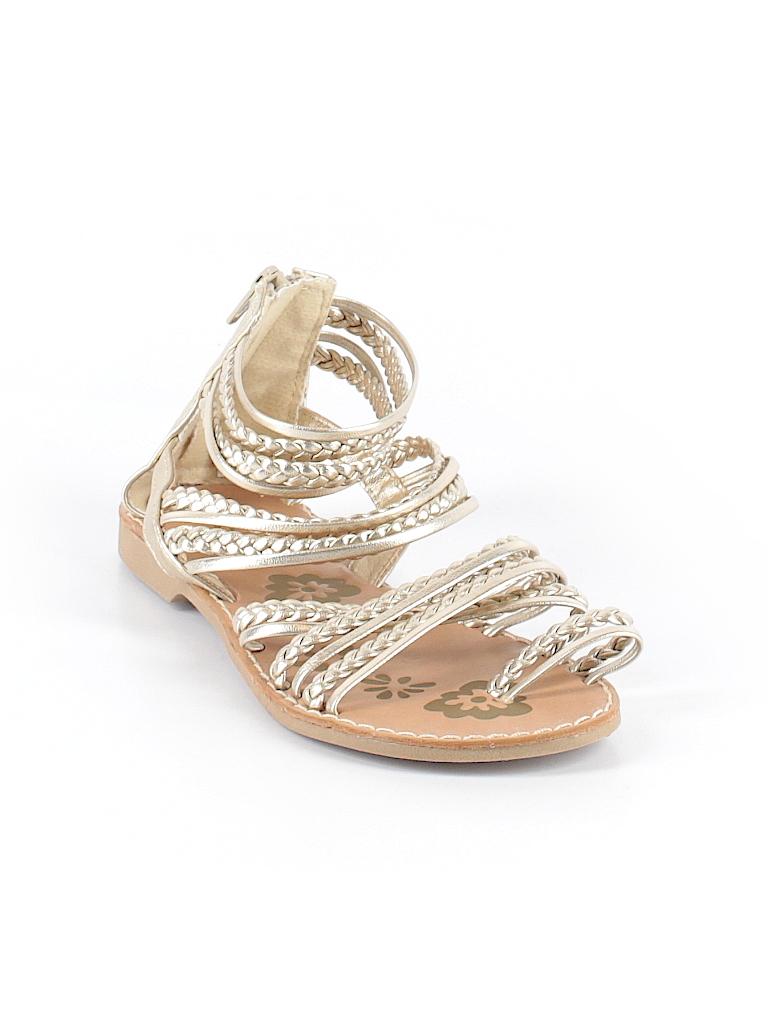 32eddb721a Seychelles Solid Gold Sandals Size 3 - 71% off