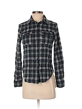 Cals Long Sleeve Button-Down Shirt Size S