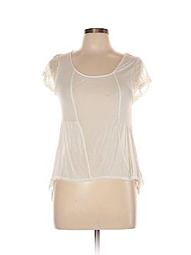 Tela Short Sleeve Blouse Size L