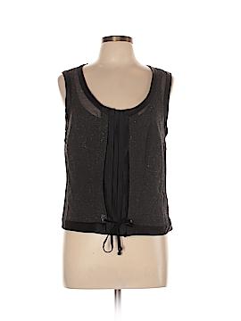 BOSS by HUGO BOSS Sleeveless Silk Top Size 10