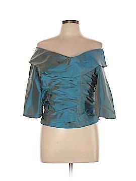 Marisa Baratelli 3/4 Sleeve Blouse Size 10