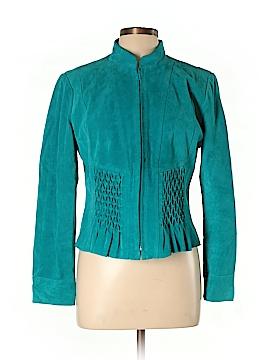 Yvonne Marie Leather Jacket Size 10