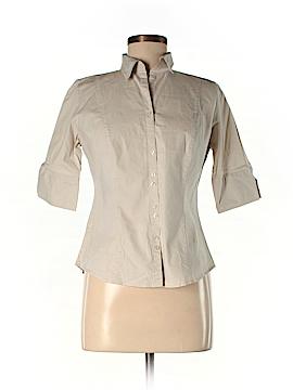 Ann Taylor LOFT Short Sleeve Button-Down Shirt Size 6