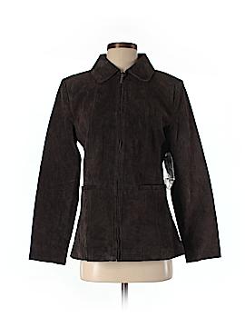 St. John's Bay Leather Jacket Size S
