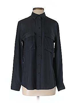 ATM Anthony Thomas Melillo Long Sleeve Silk Top Size S