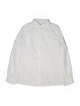 Reel Legends Long Sleeve Blouse Size M