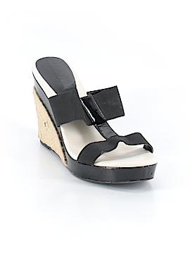 Ann Marino Wedges Size 9 1/2