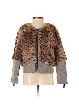 Juicy Couture Faux Fur Jacket Size P