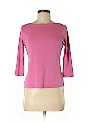 Talbots Women 3/4 Sleeve T-Shirt Size S