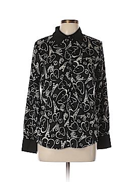 Catherine Malandrino for DesigNation Long Sleeve Blouse Size M