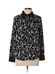 Catherine Malandrino for DesigNation Women Long Sleeve Blouse Size M