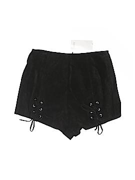 TOBI Leather Shorts Size M