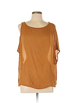 Sam & Lavi Short Sleeve Blouse Size M