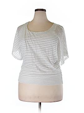 Studio Y Short Sleeve Blouse Size L