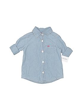 Carter's Long Sleeve Button-Down Shirt Size 6