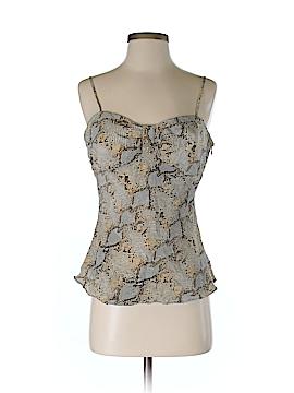 Jade Sleeveless Silk Top Size 6