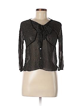 Studio M 3/4 Sleeve Silk Top Size L