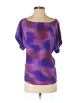 Koch Short Sleeve Silk Top Size S