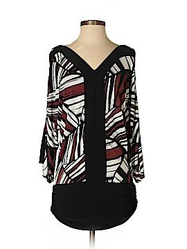 Metrostyle 3/4 Sleeve Blouse Size S
