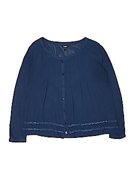 Seventeen Long Sleeve Blouse Size L