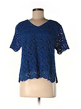 Draper's & Damon's Short Sleeve Top Size M (Petite)
