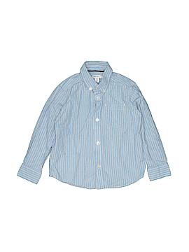 Greendog Long Sleeve Button-Down Shirt Size 4