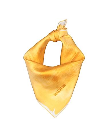 Halston Silk Scarf One Size