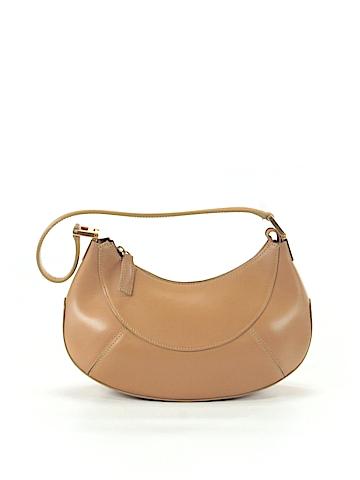 Gianni Versace Leather Hobo One Size