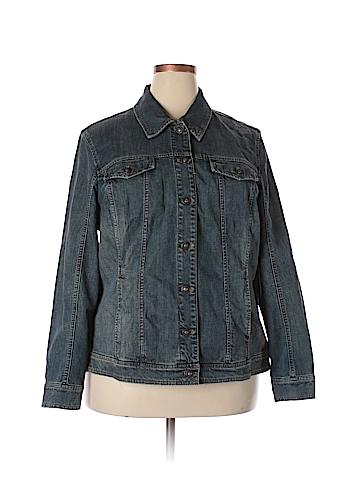 Coldwater Creek Denim Jacket Size 22 (Plus)