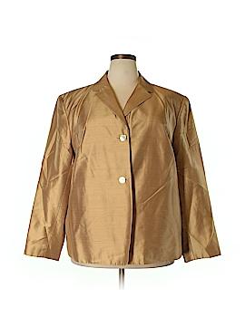 Josephine Chaus Silk Blazer Size 22 (Plus)