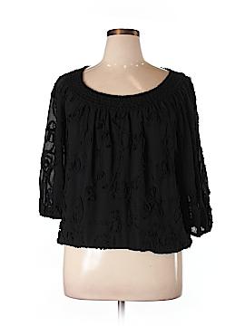 Studio M Long Sleeve Blouse Size L