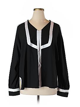 MYNT 1792 Long Sleeve Blouse Size 3X (Plus)