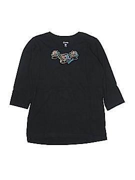 Curves 3/4 Sleeve T-Shirt Size M