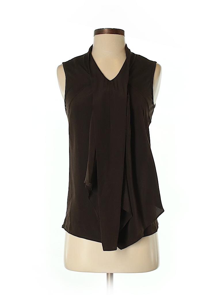 Etcetera Women Sleeveless Silk Top Size 2