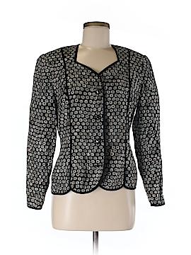 Anne Crimmins for Umi Collection Silk Blazer Size 8
