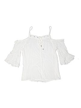 Papaya 3/4 Sleeve Blouse Size M