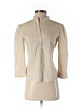 BCBGMAXAZRIA 3/4 Sleeve Button-Down Shirt Size 2